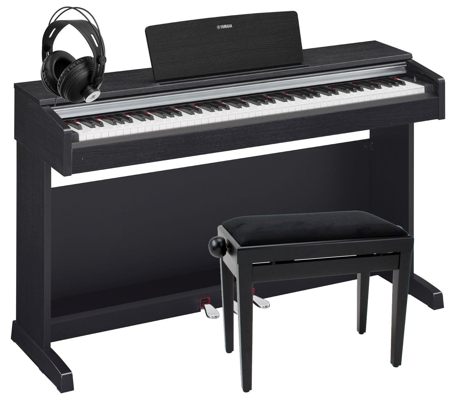 yamaha ydp 142 arius e pianotest der besten e pianos 2017. Black Bedroom Furniture Sets. Home Design Ideas