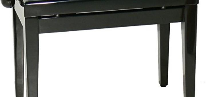 Hydraulische Klavierbank Rosenholz